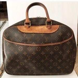 💯Authentic Louis Vuitton Monogram Deauville Bag